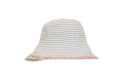 Cappello estate campana grevi bianco