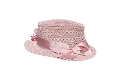 cappello bambina mary poppins con fiori