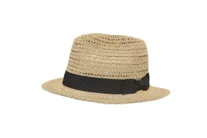 cappello bimbo fedora italiano in paglia Grevi