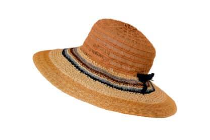 Cappello a falda larga a tre lavorazioni artigianale Grevi