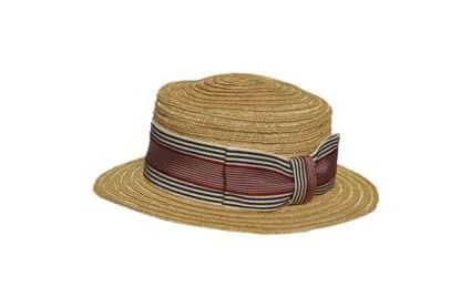 La leggerezza e la raffinatezza del Canotto Fiorentino in treccia di canapa di Manila - Cappello bambino
