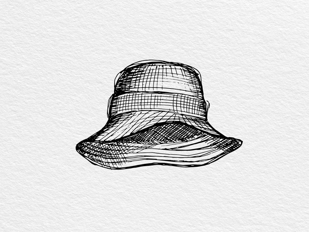 Bucket hat by Grevi