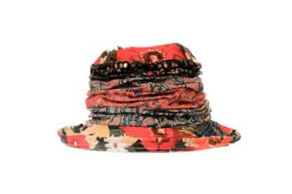 pioggia impermeabile cappello floreale Grevi