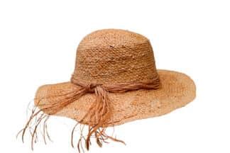 cappello da giardiniere in rafia Grevi