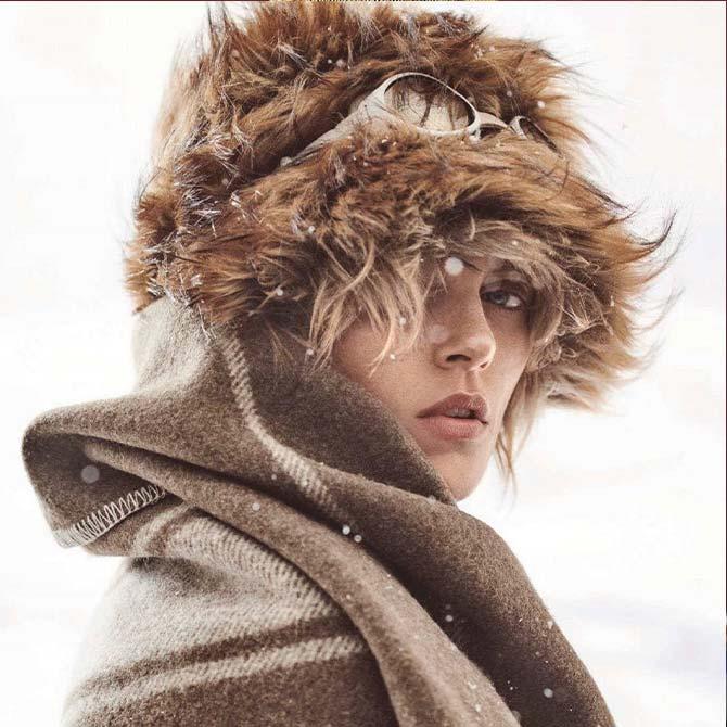 Zarina eco pelliccia colbacco vogue germany
