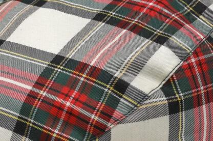 Coppola tessuto impermeabile anti pioggia disegno tartan scozzese ideale primavera e autunno.