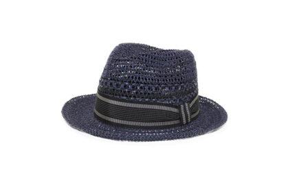 Il cappello di Fellini. In treccia traforata di nostra produzione ispirata dagli anni '60 e dal grande Federico.